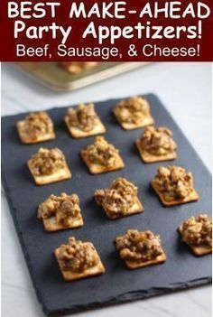 Photo of Need a EASY and DELICIOUS Crowd-pleasing Appetizer for your next party?  These c…,  #Appeti…