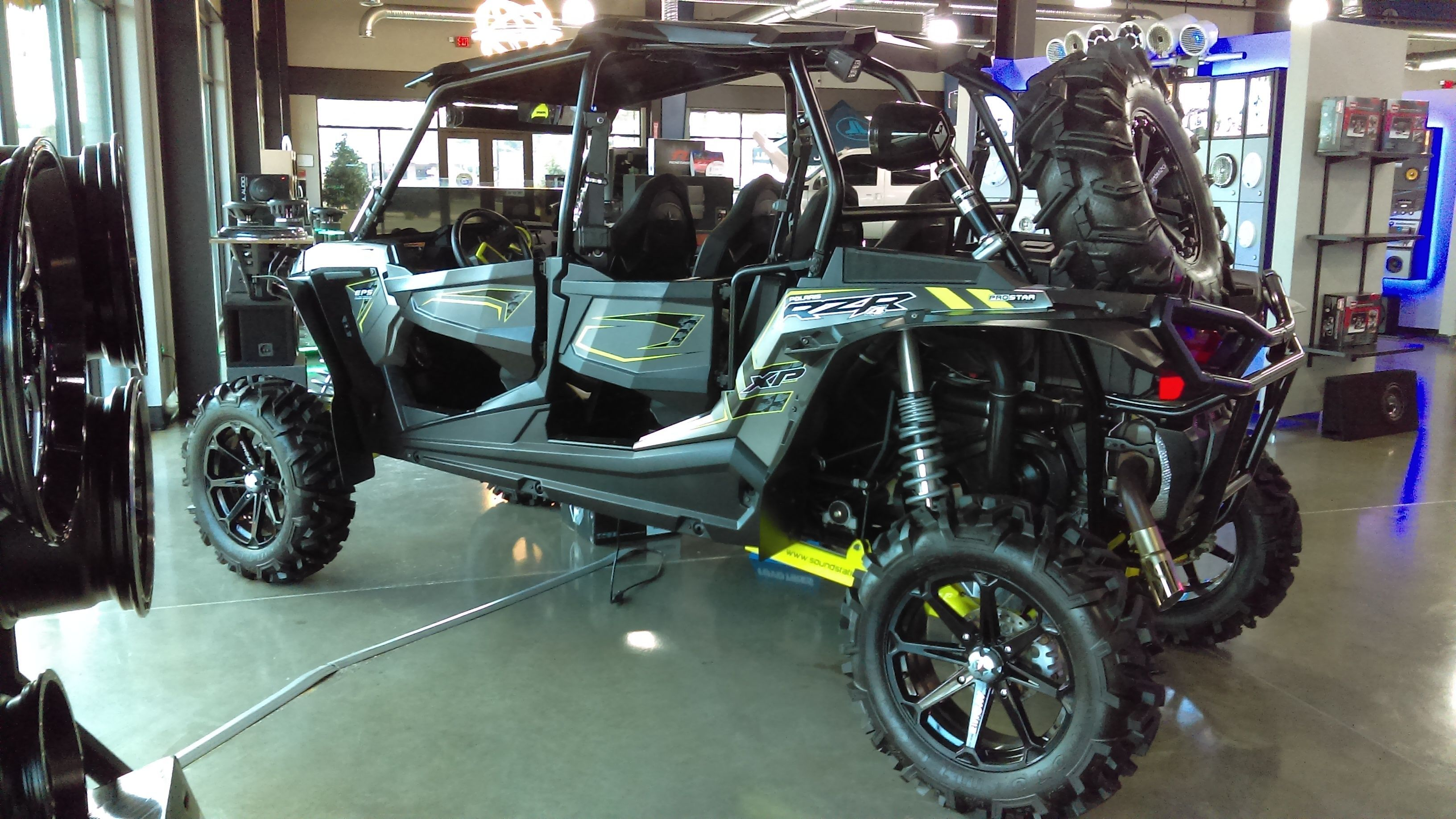 Polaris Rzr 1000cc Custom With Images Car Audio Raleigh Monster Trucks