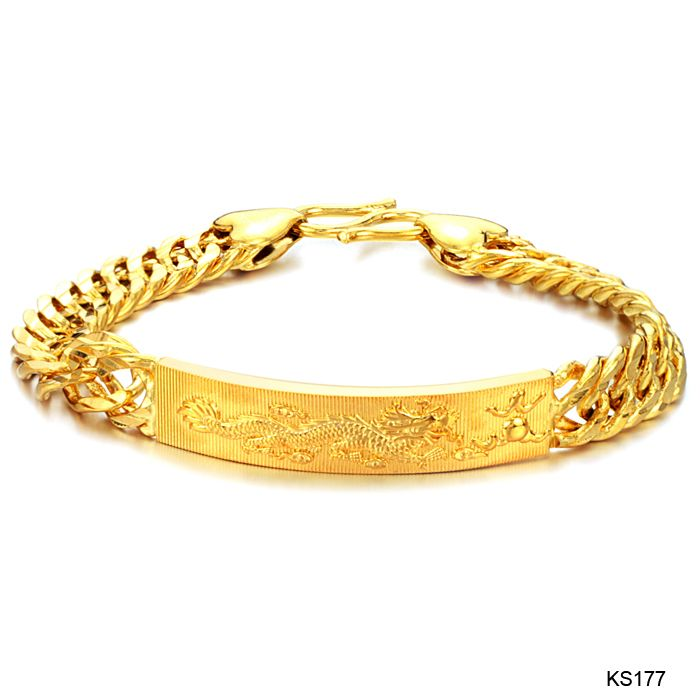 Gold Bracelets For Men | Relate Category: Yellow Gold Plated ...