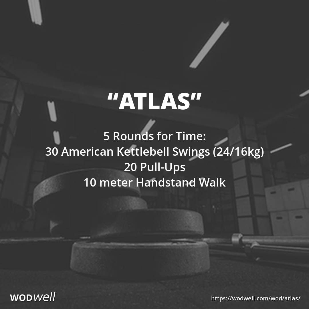 """Atlas"" WOD At home workouts, Cardio workout at home"