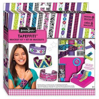 Tapefitti™ Decorative Tape Crafts: Cuff Bracelet Kit