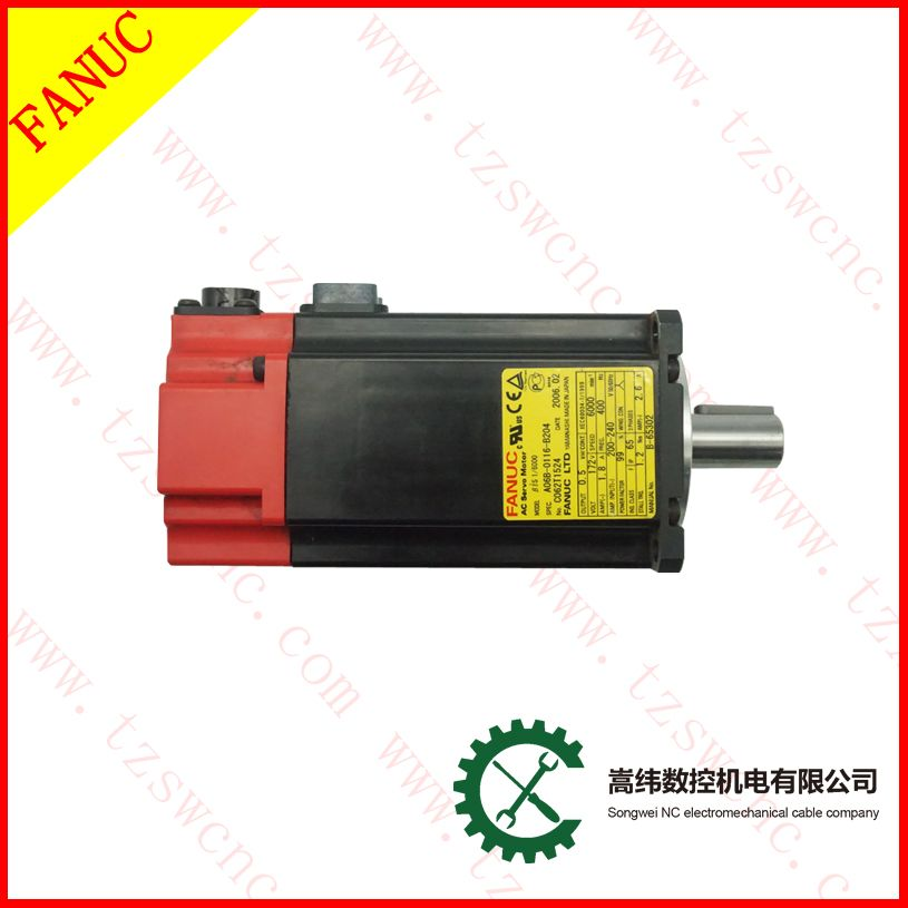 For Cnc Lathe Parts Used Beta Is 1 6000 Fanuc Ac Servo Motor A06b 0116 B204 Lathe Parts Cnc Lathe Cable Companies