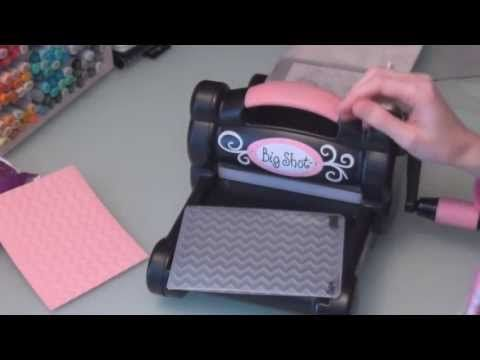 Stampin Up Big Shot Tutorial Youtube With Images Big Shot Stampin Up Tutorial