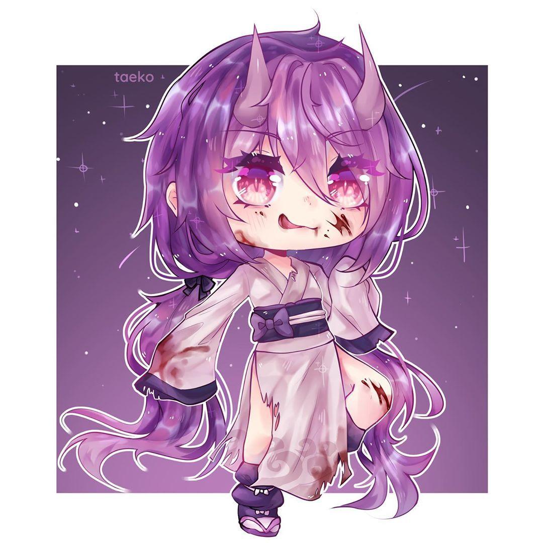 1 051 Me Gusta 9 Comentarios No Requests Gachataeko En Instagram Oni Time Eats Ur Family Ga Anime Drawing Styles Kawaii Drawings Cute Drawings