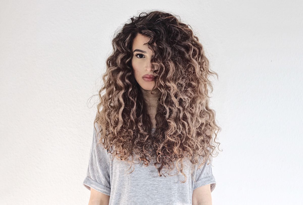 About My Curly Hairroutine About Ajat Frisuren Langhaar Meine Haare Locken Machen