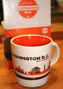 Sipping java on The Belt - Limited edition 2012 Dunkin Donuts Washington DC coffe mug