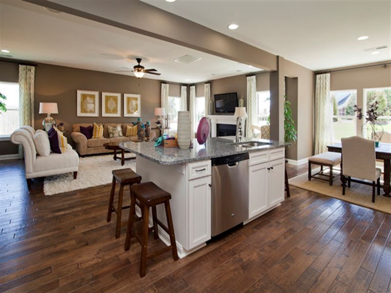 Reseda Single Family Home Floor Plan in Mooresville, NC ... on