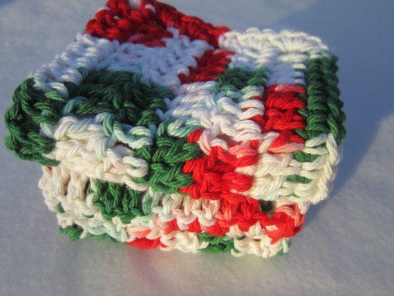 Cotton Dish Cloths or Wash Cloths in by crochetedbycharlene, $11.00