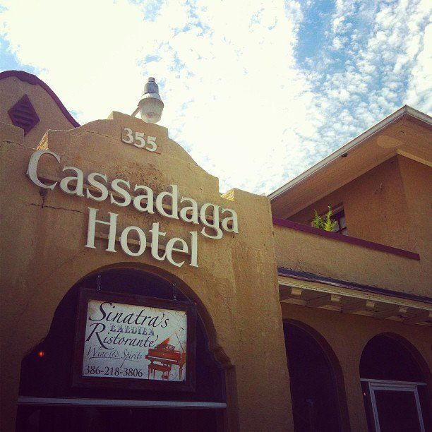 pin for later the 21 creepiest haunted houses in america the cassadaga hotel - Cassadaga Halloween