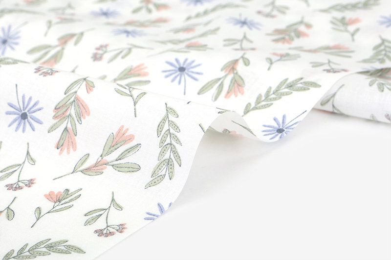 1 2 Yard 100 Cotton Pure Flower 62 Wide Dailylike Canada Fabric Design Pure Products Fabric
