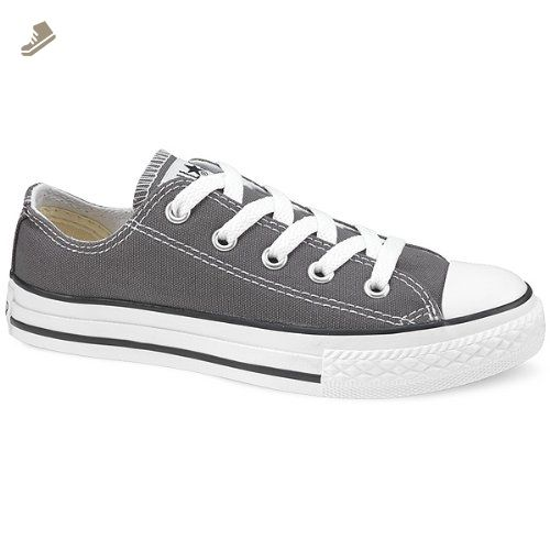 09638f196094f Converse Toddler Youth Allstar Low Chuck Taylor Shoes in Charcoal ...