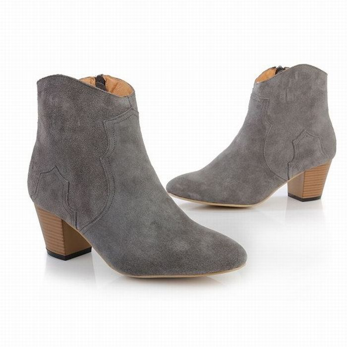 womens grey suede ankle boots | Gommap Blog