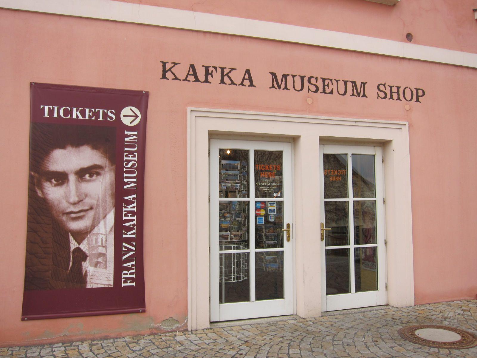 Kafka Museum Shop, Prague