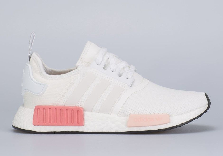 241893c3f On Our Wish Lists  Adidas NMD R1 White Rose