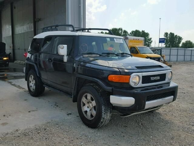2007 Toyota Fj Cruiser Suv For Sale Salvage Title Suv For Sale Toyota Fj Cruiser 2007 Toyota Fj Cruiser