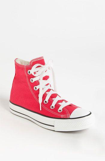3302f9e3f385 Hot pink Converse Chuck Taylor® High Top Sneaker