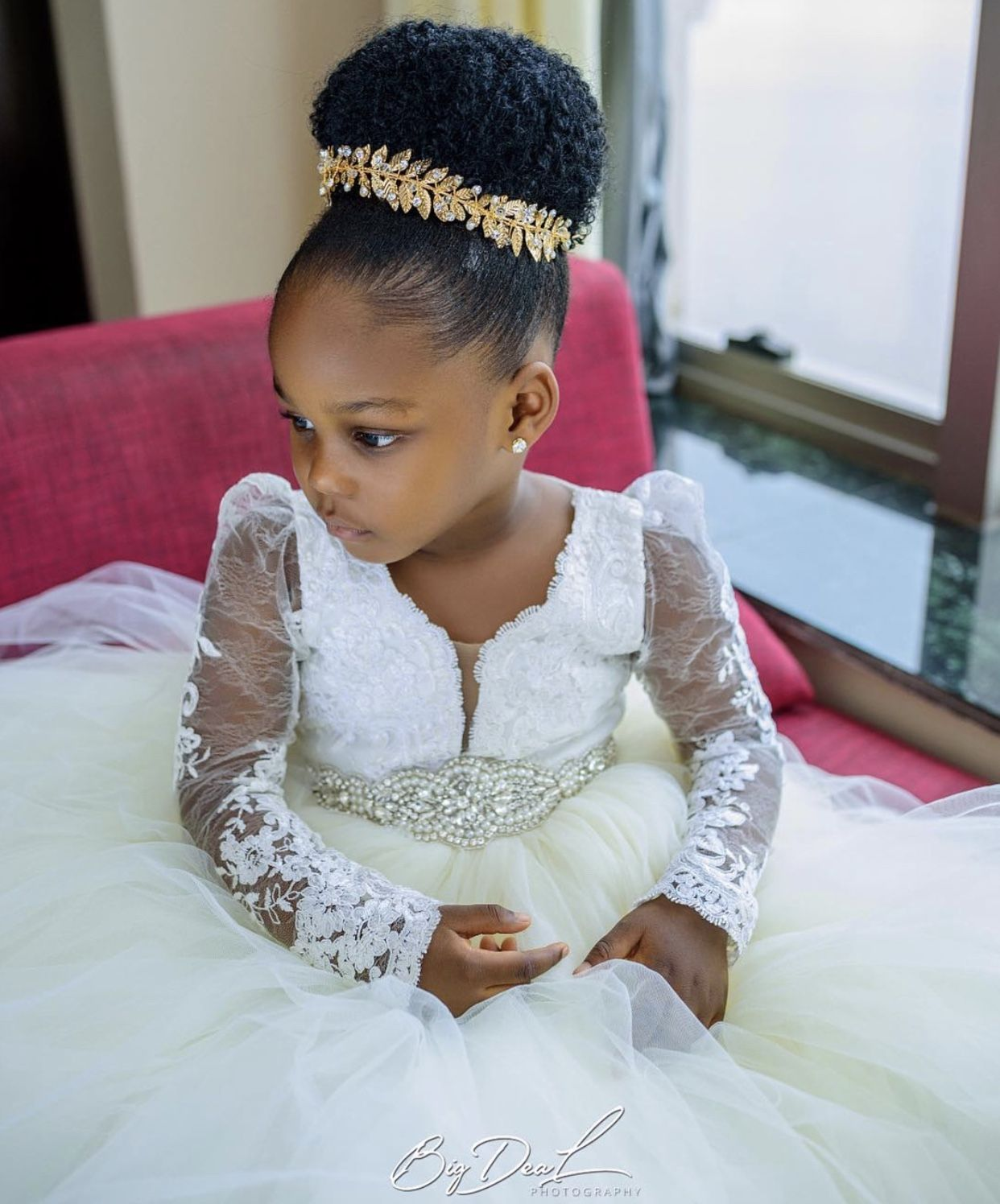 African American Flower Girl Wedding Hairstyles In 2020 Wedding