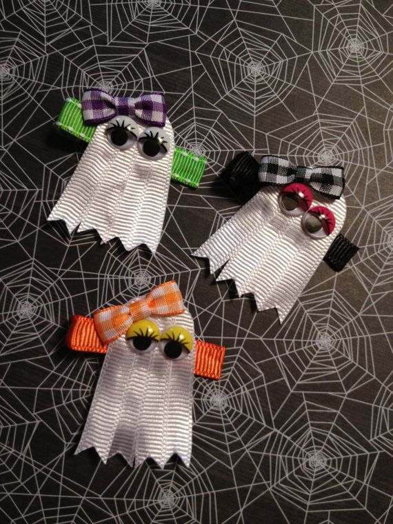 NEW Halloween Ghost Clips You Choose From 3 by