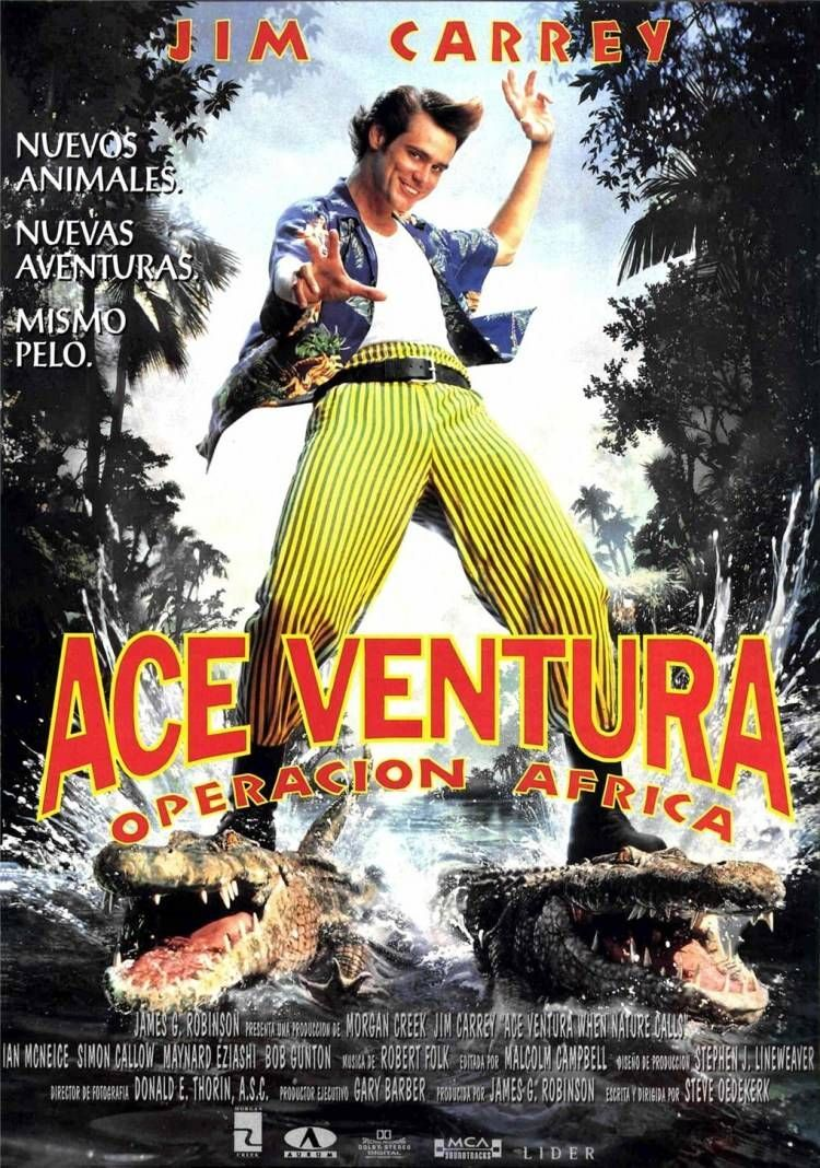 Ace Ventura When Nature Calls Budala Dedektif 2 720p Altyazili