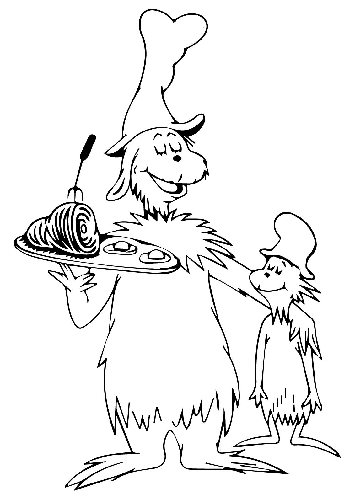 Green Eggs and Ham Coloring Pages For Free Usage  Green eggs and