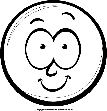 Fun And Free Clipart Free Smiley Faces Black And White Face Clipart Black And White