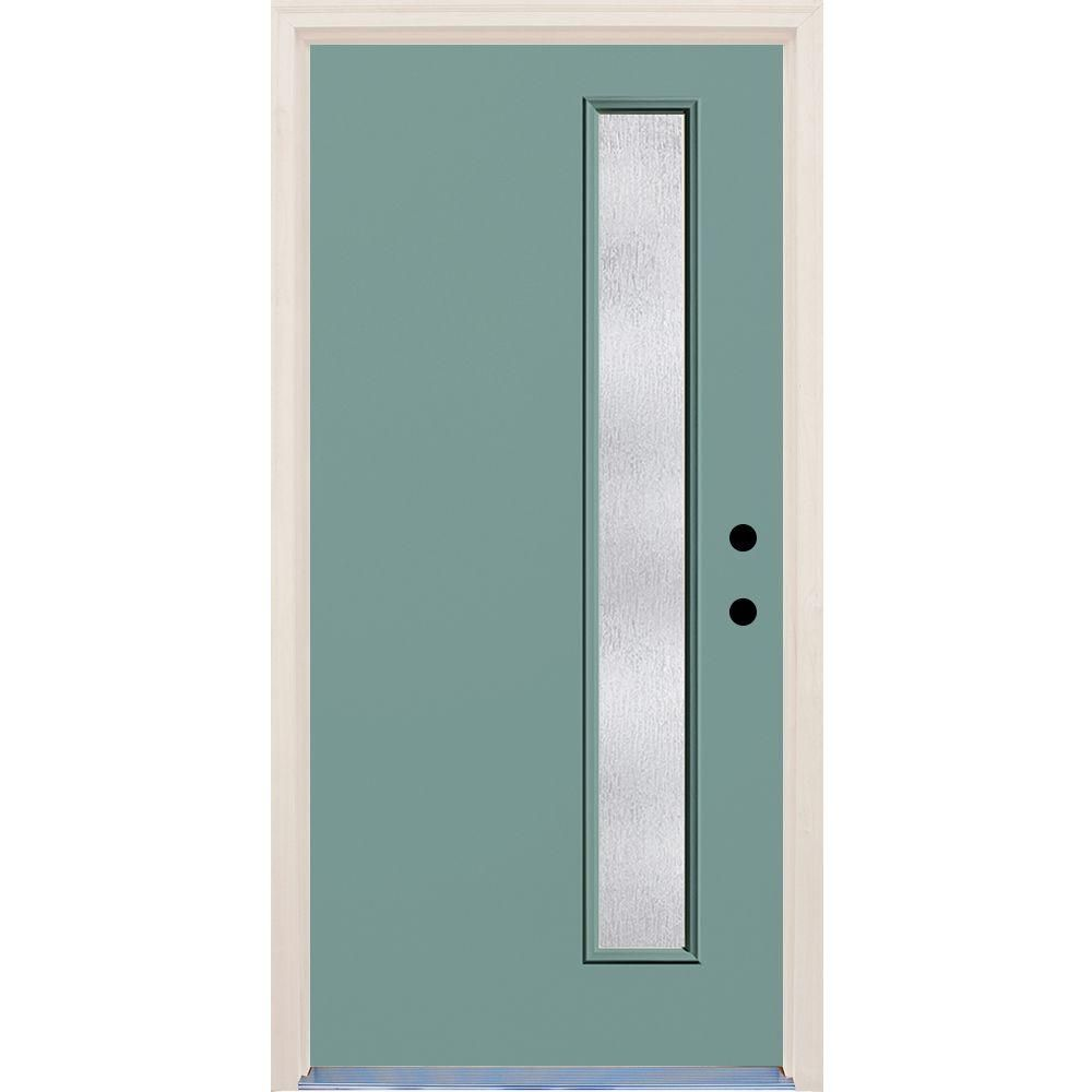 Builder S Choice 36 In X 80 In Exterior Doors Exterior Front Doors Clear Glass