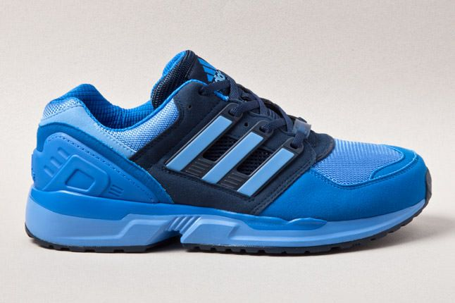reputable site 862f4 092ba adidas EQT Running Cushion Laser Blue