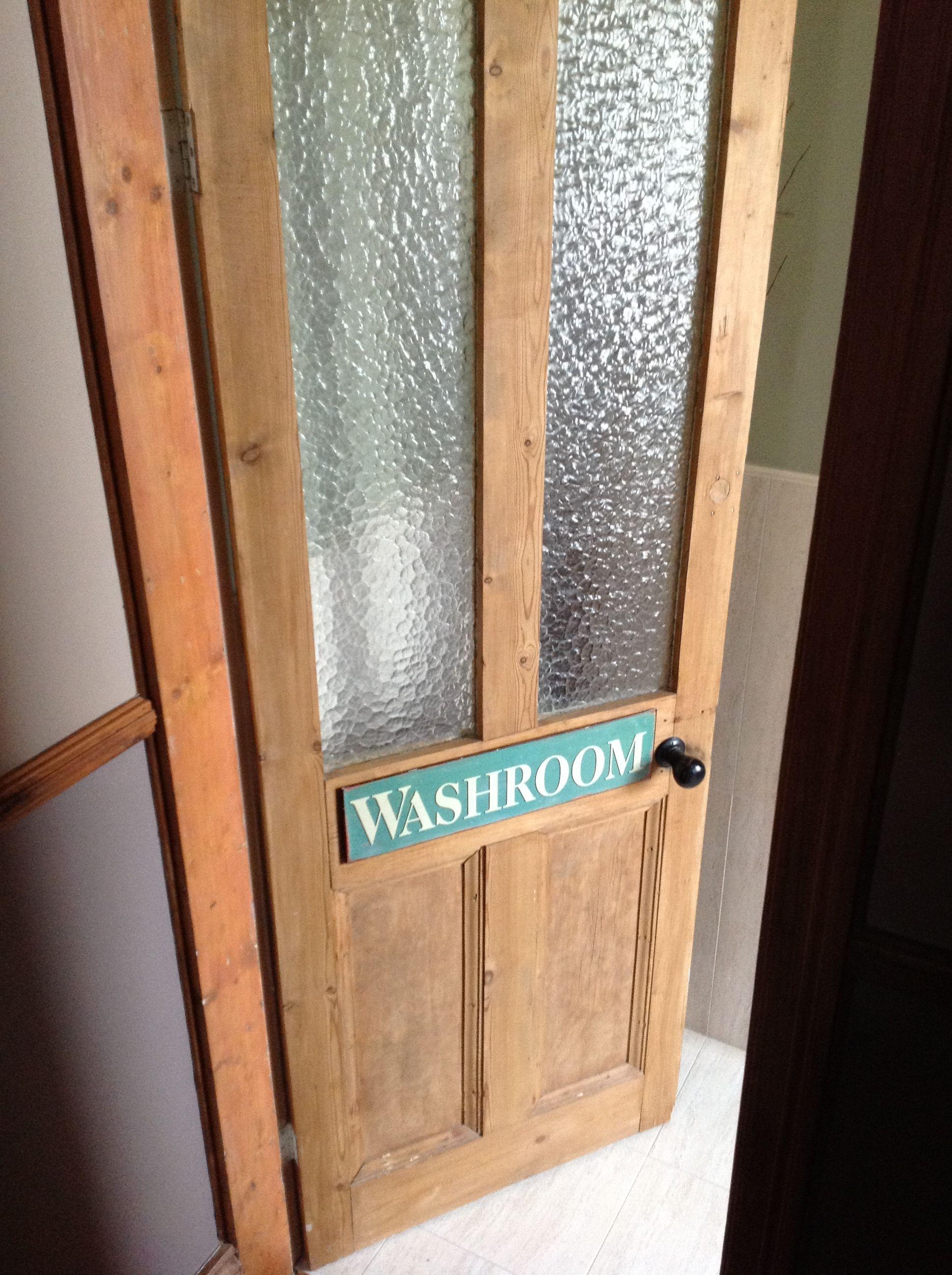 Cutest Bathroom Door I Ve Ever Seen Victorian Bathroom
