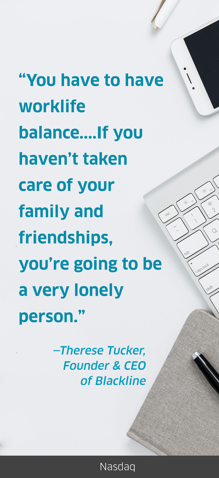 Talk about words on worklifebalance! Therese Tucker