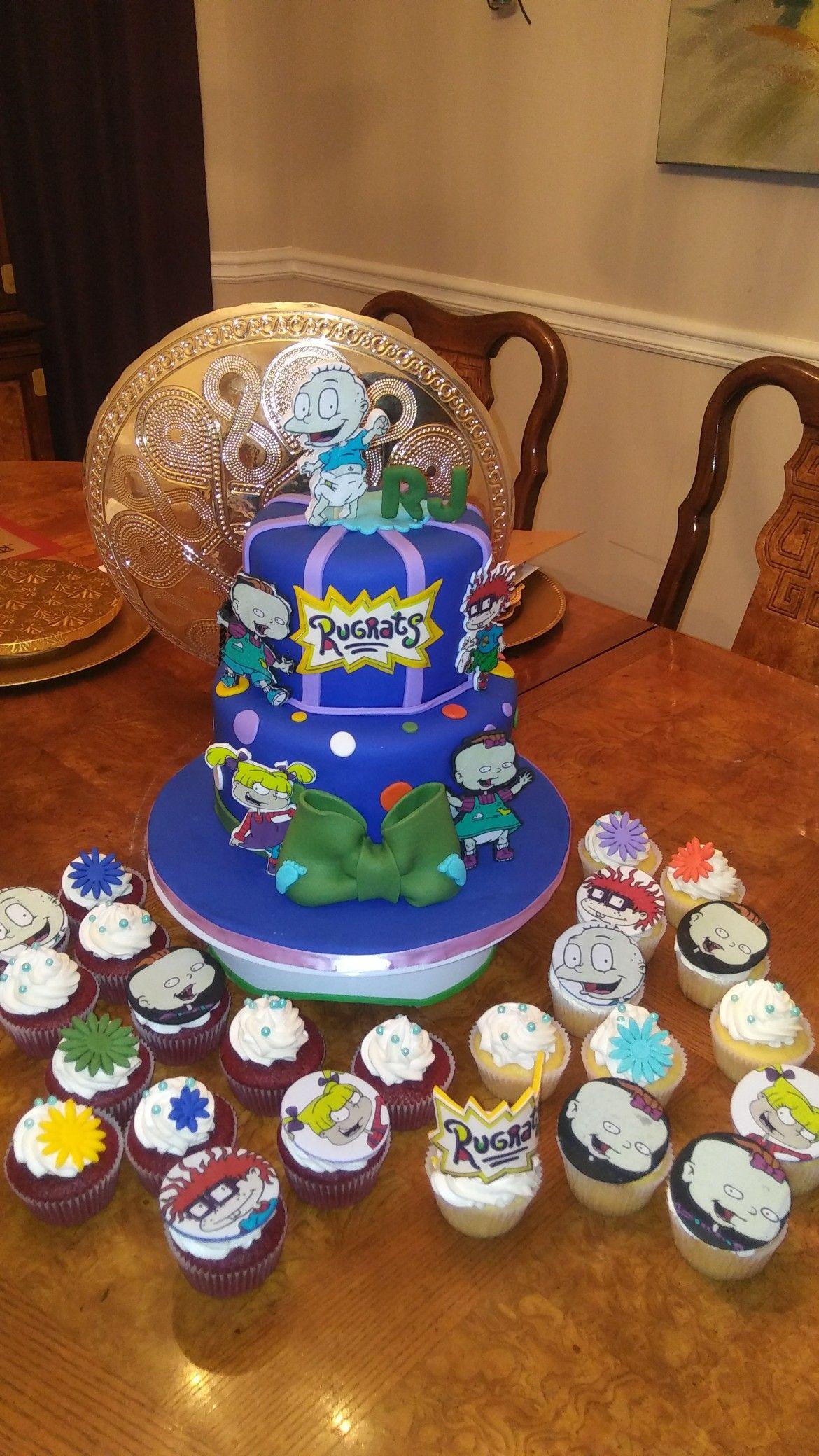 Rugrats Cake Custom Cakes Pinterest Birthday 1st Birthdays