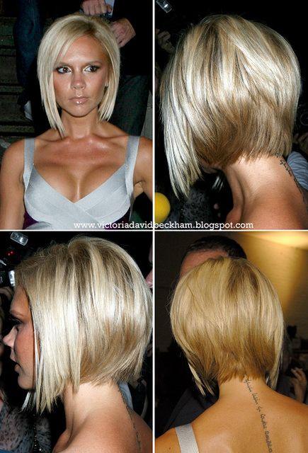 Victoria Beckham Hair Kisa Bob Sac Sac Ve Guzellik Kisa Sac