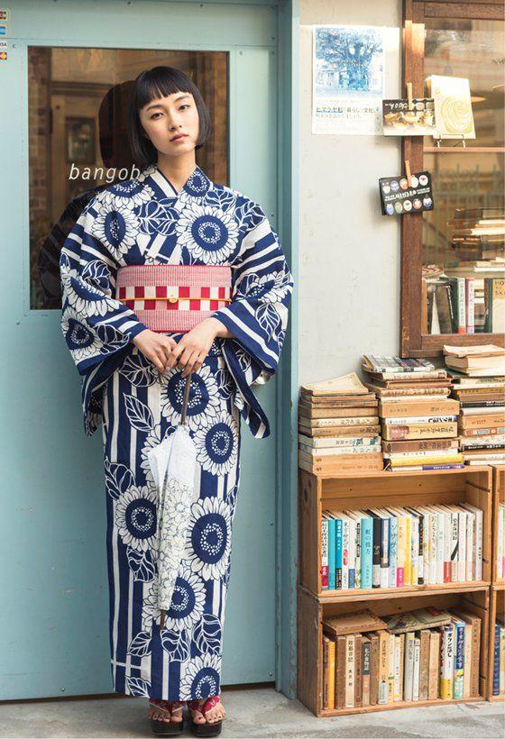 三松/しゃらの2017新作浴衣コレクション。鮮やかな色柄はもちろん
