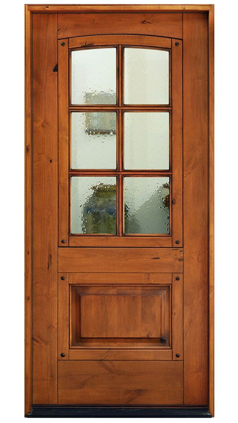 Best The Balboa With A Rustic Looking Knotty Alder Finished In 400 x 300