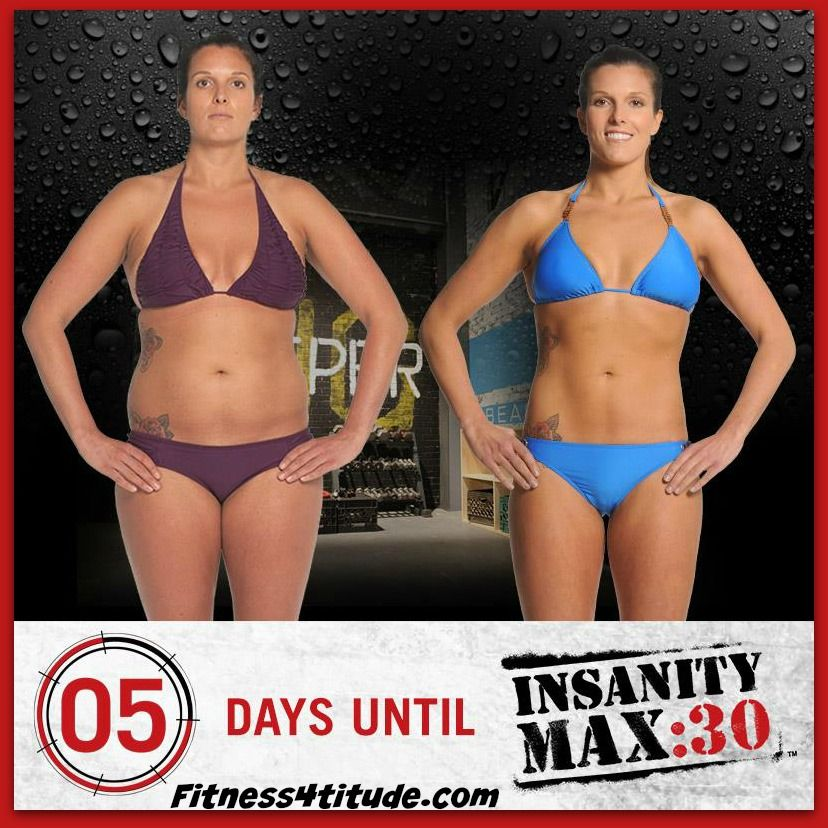 am i guaranteed to lose weight with insanity
