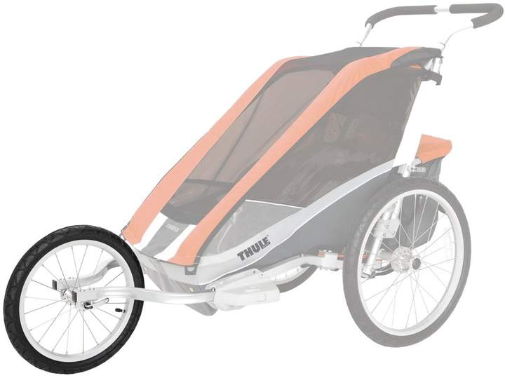Thule Chariot Cheetah Cougar 2 Jogging Kit Products In 2019 Baby Strollers Jogging Stroller Running With Stroller