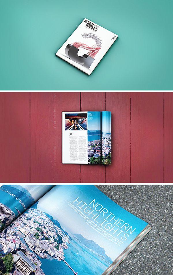 75 Free Psd Magazine Book Cover Brochure Mock Ups Magazine Mockup Psd Magazine Mockup Design Mockup Free