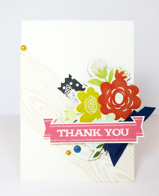 Emily Branch Designs   Branch Out.: A Ready Made Floral Card of Thanks