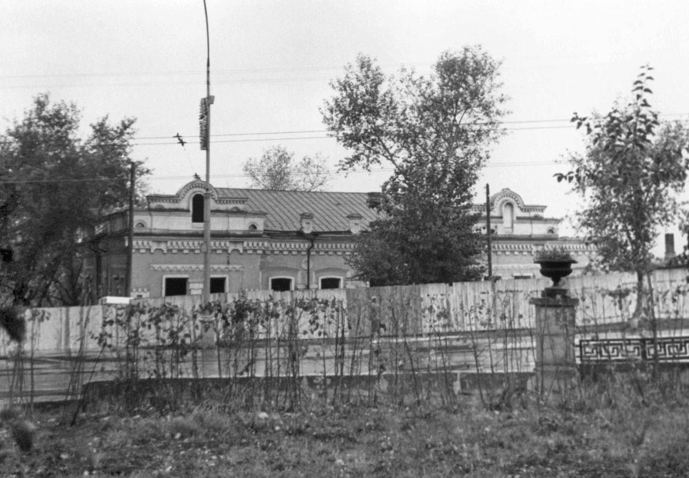"""""""House of Special Purpose"""" as the Ipatiev house was known after it became the last residence and of the Romanov family."""