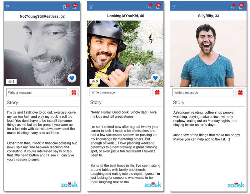 Online dating profile examples