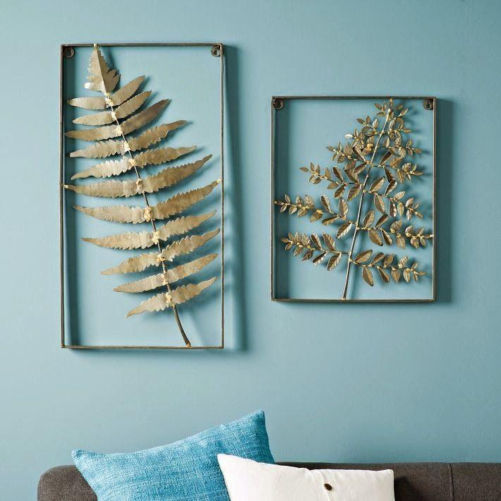 Get What U Imagine Fern Wall Art Wall Art Metal Lace