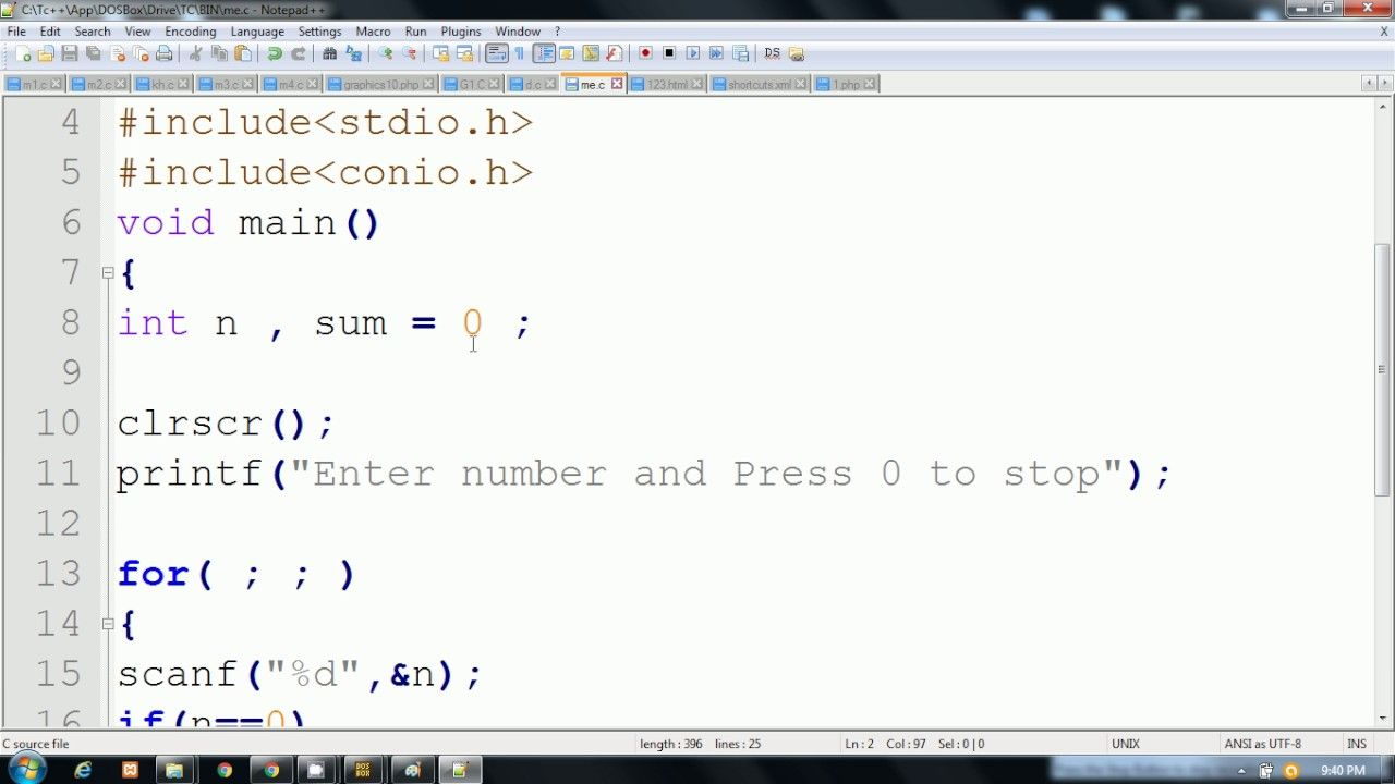 C Language In Hindi Example For Understanding Break And Continue