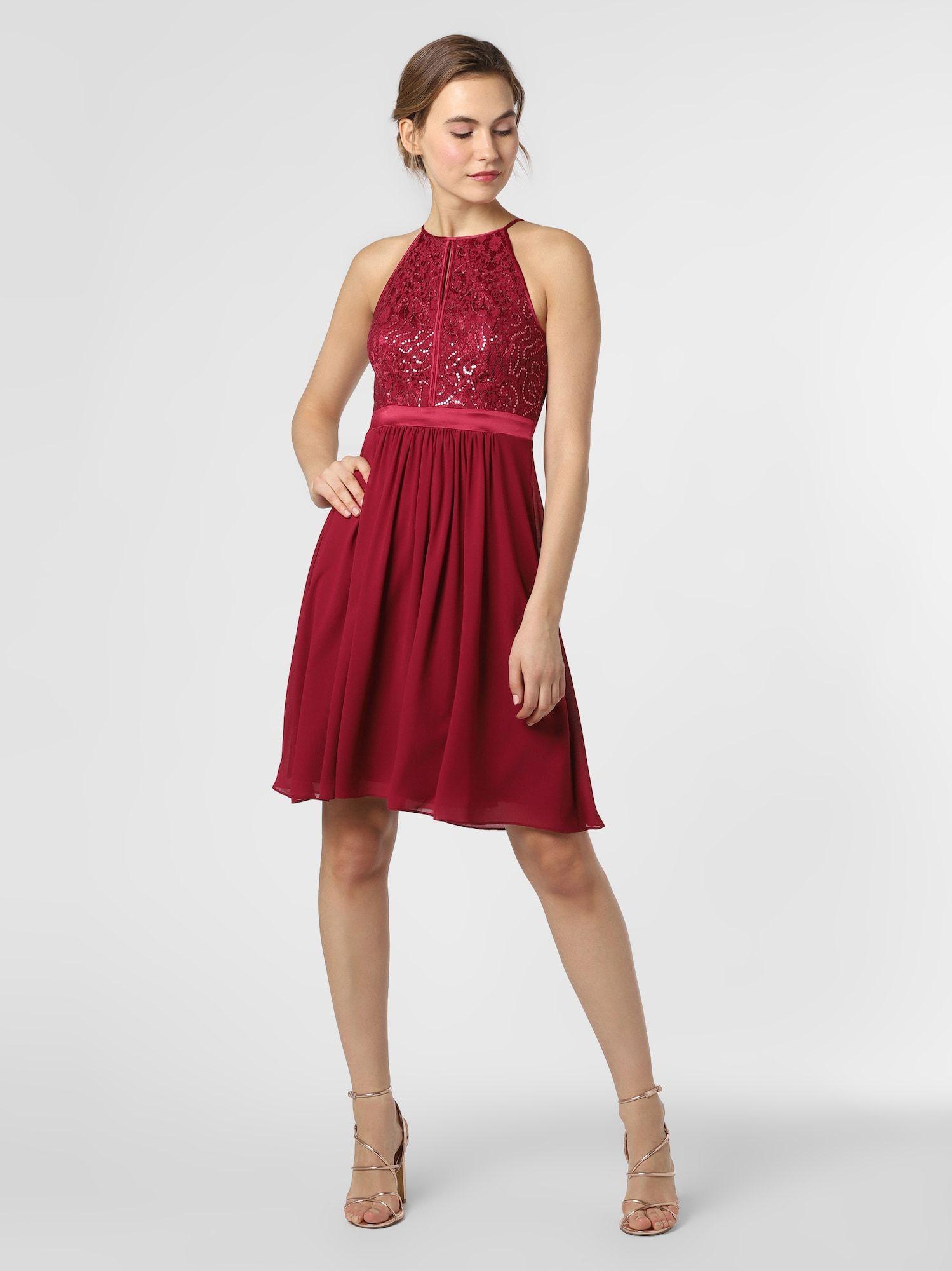 Marie Lund Kleid Damen, Himbeer, Größe 13 in 13  Abendkleid