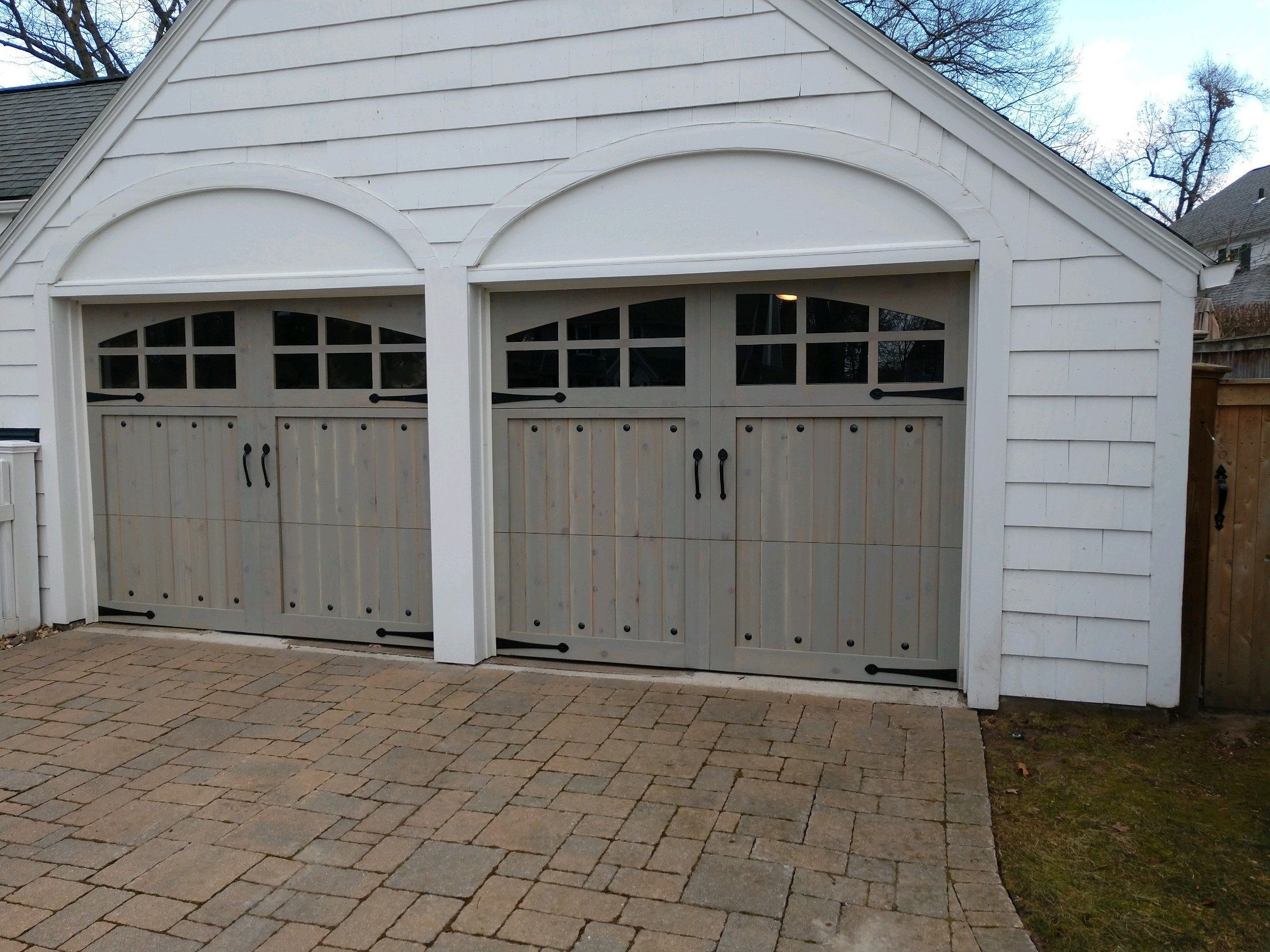 Customizable Cedar Garage Door In 2020 Garage Door Styles Garage Door Design Wooden Garage Doors