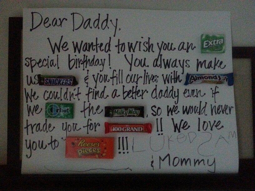Happy Birthday Daddy Cute Gift Ideas Gifts Fun