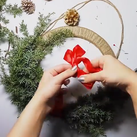 Photo of Creative DIY Christmas wreath