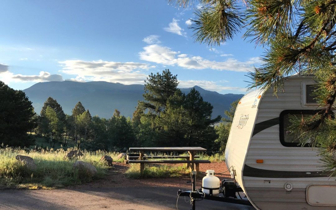 Campground Review of Mueller State Park in Divide