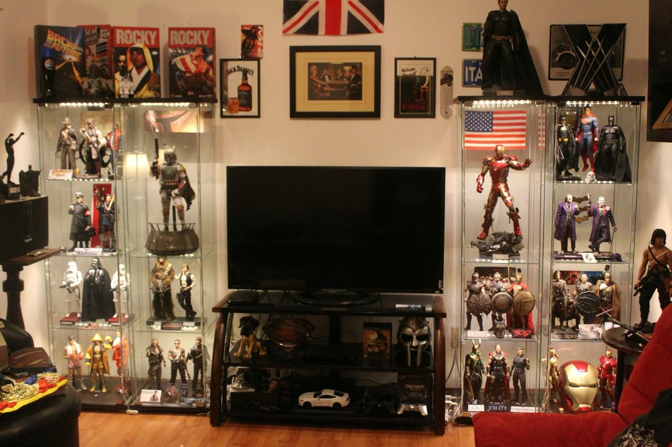 Geeky Home Decor Awesome Lounge Man Cave Display Geek In 2019