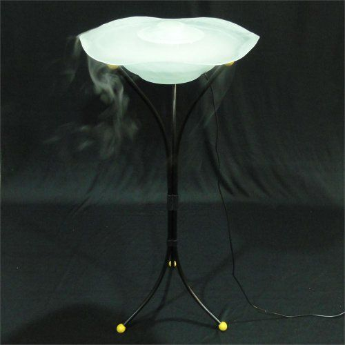 Mist Fountain Floor Mist Fountain White By Canary 49 99 Fogger Mist Fountain Humidifier This Is The Newest Model Of Night Light Lamp Fountain Lamp Decor