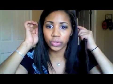 How to make clip in hair extensions i want to try this also remy hair weave for cheap pmusecretfo Images