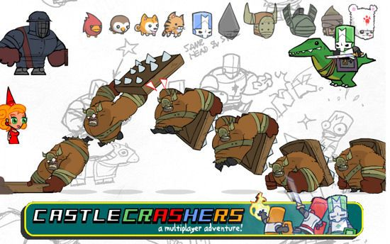 Castle crashers characters how to unlock